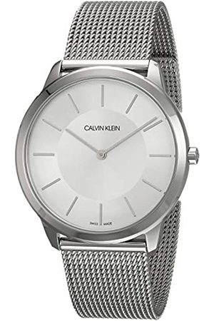 Calvin Klein Men's Analogue Quartz Watch with Stainless Steel Bracelet – K3M21126