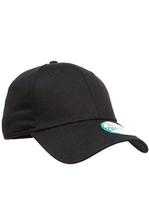 New Era Men's NE Basic 9FORTY BLKWHI Baseball Cap,