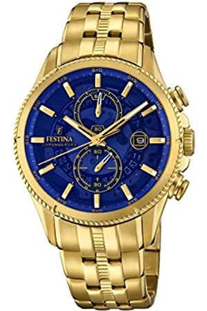 Festina Mens Chronograph Quartz Connected Wrist Watch with Stainless Steel Strap F20269/2