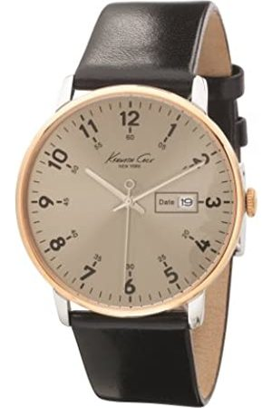 Kenneth Cole Mens Analog Quartz Watch with Leather Strap 10008364