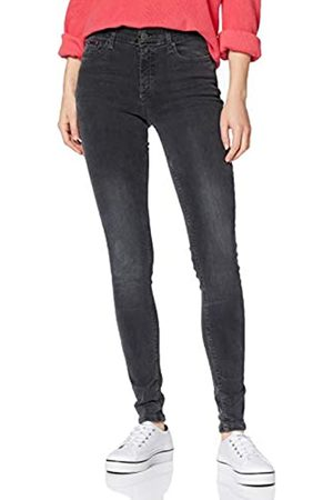 Tommy Hilfiger Women's Mid Rise Skinny Nora Plgy Straight Jeans