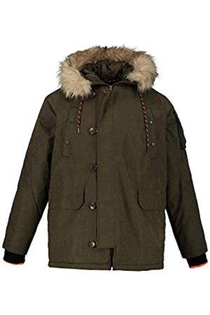 JP 1880 Men's Big & Tall Padded Parka Olive XXX-Large 723367 41-3XL