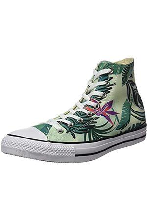 Converse Women's CTAS Hi Sneakers, Multicolor (Fiberglass/Menta/ )