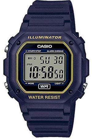 Casio Unisex Adult Digital Quartz Watch with Resin Strap F-108WH-2A2EF