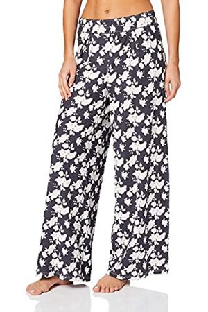 Skiny Women's Damen Pyjama Hose Lang Soul Sleep Bottoms