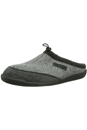 Hans Herrmann Men's HHC Slippers Grey Size: 3
