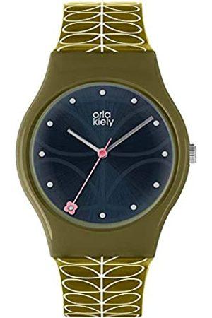 Orla Kiely Unisex Adult Quartz Watch