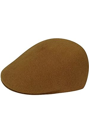 Kangol Seamless Wool 507 Flat Cap, (Wood)