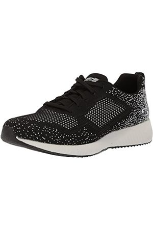 Skechers Women's BOBS Squad-Awesome Sauce Trainers, ( Bkgy)
