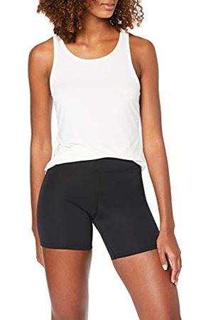 AURIQUE Amazon Brand - Women's 2 Pack Sculpt High Waisted Cycling Shorts, 14
