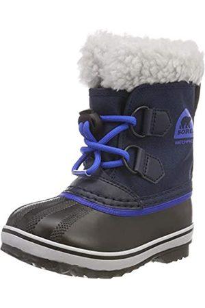 sorel Unisex Kids Yoot Pac Nylon Snow Boots, (Collegiate Navy, Super )