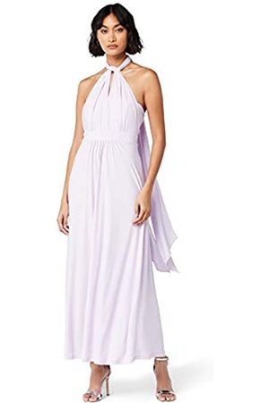 TRUTH & FABLE Amazon Brand - Women's Maxi Halter Dress, 8