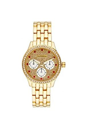 Jean Bellecour Unisex Adult Analogue Quartz Watch with Stainless Steel Strap JBN15