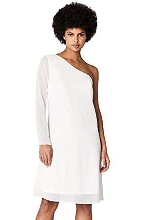 TRUTH & FABLE Amazon Brand - Womens Dress Maxi Keyhole, 14