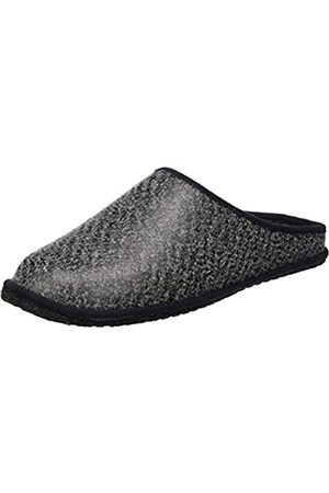 Kitz-Pichler Unisex Adults' Leder Franzi Open Back Slippers Grey Size: 11 UK