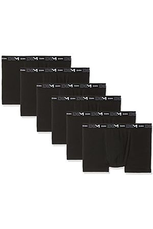 DIM Men's Coton Stretch Boxer X6 Boy Short, (Noir/Noir/Noir + Noir/Noir/Noir 0HZ)