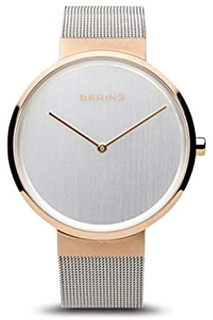 BERING Unisex Analogue Quartz Watch with Stainless Steel Strap 14531-060