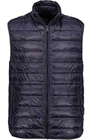 JP 1880 Men's Big & Tall Zip Front Quilted Vest Navy Large 705471 70-L