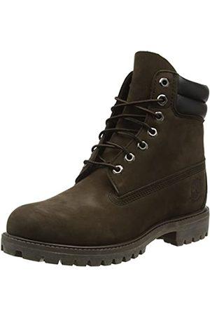 Timberland Men's 6-Inch Double Collar Boot Ankle, (Dark Chocolate Nubuck)