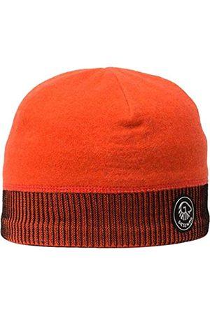 GIESSWEIN Sports Beanie Kugelhorn neon ONE - 100% Merino Wool Cap, Sports Cap for Men & Women, Warm Fleece Lining Inside