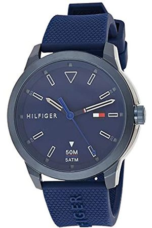Tommy Hilfiger Mens Analogue Classic Quartz Watch with Silicone Strap 1791621