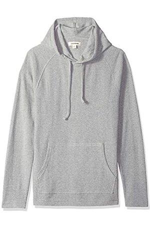 Goodthreads Amazon Brand - Men's Long-sleeve Slub Thermal Pullover Hoodie T-Shirt, (heather )