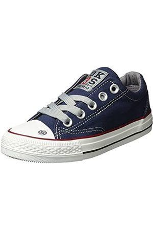 Dockers Trainers - 38ay613-710660, Unisex Kids' Hi-Top Sneakers, (Navy 660)