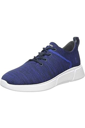 Hush Puppies Men's Cooper Lace Up Trainers, (Navy Heather Navy)