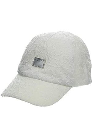maximo Baby Girls' Basecap schmetterlinge, Weiß Cap
