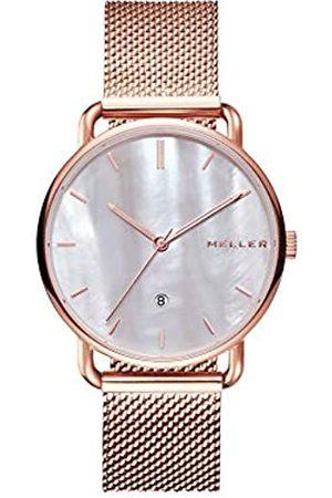 Meller Unisex Adult Analogue Quartz Watch with Stainless Steel Strap W3R-2ROSE