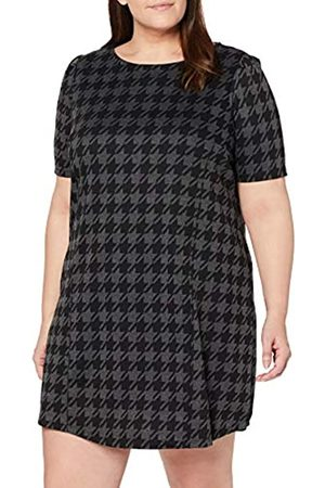 Dorothy Perkins Curve Women's Dogtooth Print Tunic Blouse
