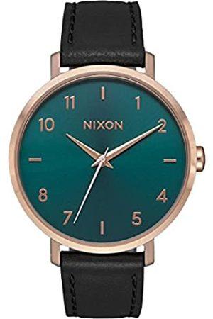 NIXON Women's Analogue Quartz Watch with Leather Strap A1091-2805-00