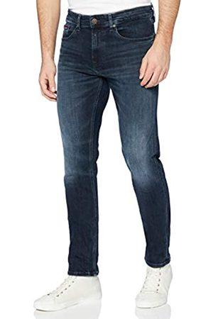 Tommy Jeans Men's Austin Slim Tapered WLBLK Straight Jeans