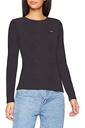 Levi's Women's 501 Crop T-Shirt Long Sleeve Top