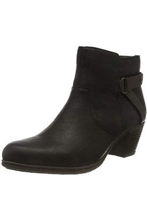 Rieker Women's Herbst/Winter Ankle Boots, (Schwarz/Havanna / 02 02)