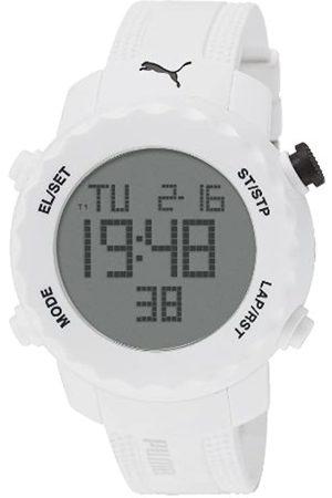 Puma Sharp Unisex Digital Watch with Dial Digital Display and PU Strap PU911031004