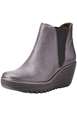 Fly London Women's YOSS Chelsea Boots, (Graphite 066)