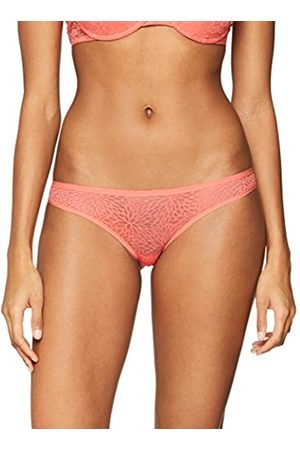 IRIS & LILLY Women's Floral Mesh Brazilian Brief, Pack of 3