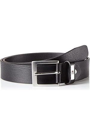 Tommy Hilfiger Men's Metal Plate Loop Belt 3.5 ADJ