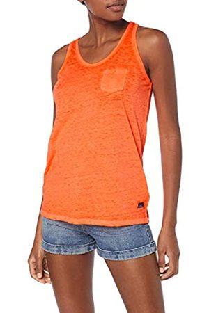 Superdry Women's Burnout Pocket Vest Kniited Tank Top Sleeveless Kniited Tank Top