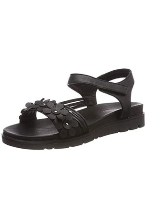 Romika Women's Madrid 03 Gladiator Sandals, (Schwarz 100)
