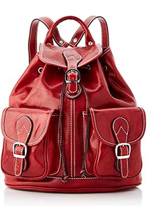 Chicca Tuttoa Unisex Adults' CBC18777GF22Backpack (ROSSO ROSSO)