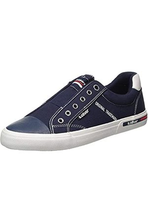 s.Oliver Men's 5-5-14603-24 Loafers, (Navy 805)