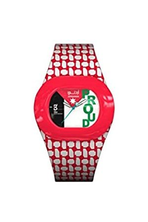 B360 WATCH Unisex Quartz Watch Analogue Display and Silicone Strap 1050014