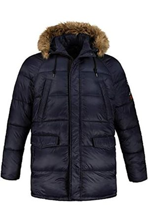 JP 1880 Men's Big & Tall Padded Parka Navy XXXX-Large 723370 76-4XL
