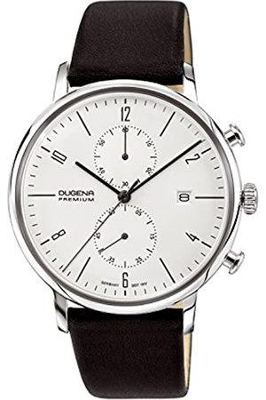 DUGENA Premium Quartz Watch for Men with Leather Strap