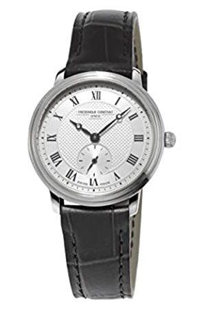 Frederique Constant Women's Quartz Watch Slim Line FC-235M1S6 with Leather Strap