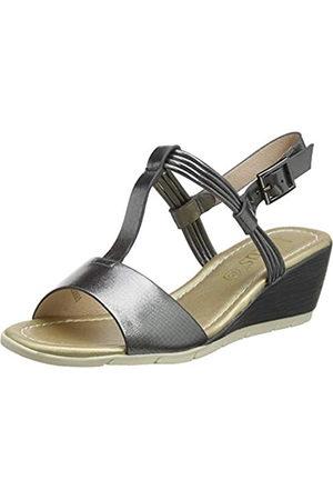 Lotus Women's Kiera Open Toe Sandals, (Pewter Dj)