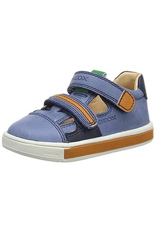 Geox Baby Boys' B TROTTOLA C Low-Top Sneakers, (Dk / C4m2t)
