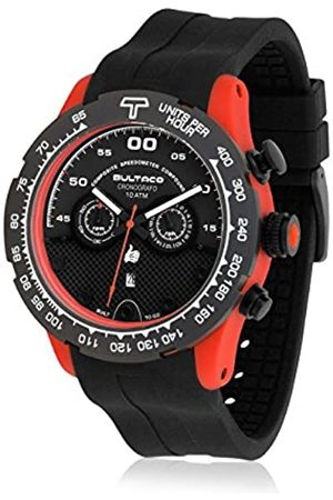 Bultaco Quartz Watch Chronograph Display and Rubber Strap H1PO48CSB2